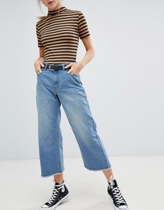 Широкие расклешенные джинсы Daisy Street - Синий