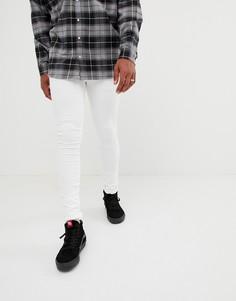 Белые облегающие джинсы Dr Denim Kissy - Белый