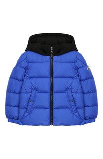 Куртка на молнии с капюшоном Moncler Enfant