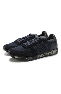 Комбинированные кроссовки Eric на шнуровке Premiata