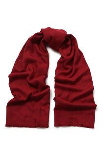 Хлопковый шарф с бахромой BOSS