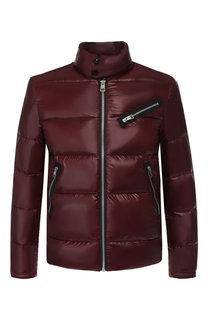 Пуховая куртка на молнии с воротником-стойкой Just Cavalli