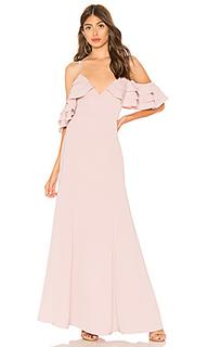 Макси платье с рюшами bell - About Us