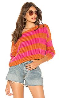 Пуловер just my stripe - Free People