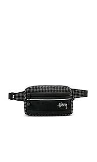 Ripstop nylon waist bag - Stussy