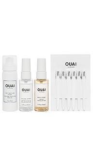 Набор средств для волос three ouai kit - OUAI