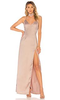 Макси платье с высоким разрезом rylie - About Us