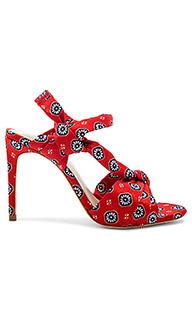Туфли на каблуке с открытым носком maxine - RAYE