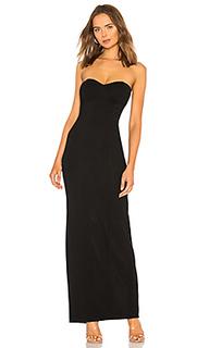 Вечернее платье без бретелек sally - NBD