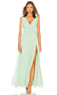 Вечернее платье с глубоким вырезом gertrude - MAJORELLE