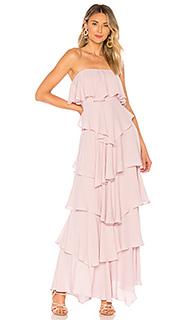 Вечернее платье без бретелек iram - MAJORELLE