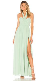 Вечернее платье без бретелек viola - MAJORELLE