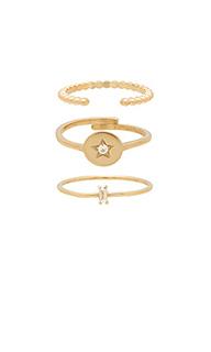 Набор колец cosmos - Natalie B Jewelry