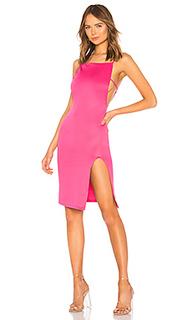 Облегающее платье с разрезом murphy - h:ours