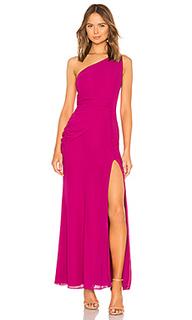 Вечернее платье с открытым плечом perdita - NBD
