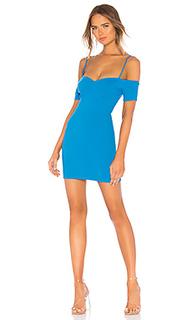 Мини-платье с открытыми плечами swerve - NBD