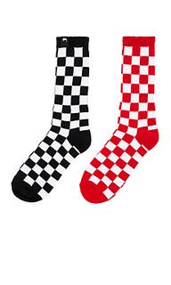 Носки checker - Stussy