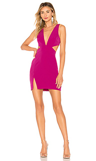 Мини платье lindsey - NBD