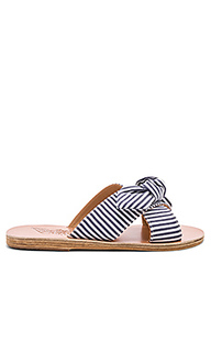 Шлепанцы thais bow - Ancient Greek Sandals