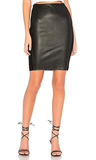 Юбка карандаш tolstoy eco-leather - Bailey 44