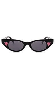 Солнцезащитные очки x adam selman the heartbreaker - Le Specs