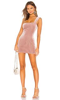 Мини платье с асимметричным подолом erica - Privacy Please