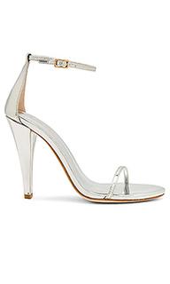 Туфли на каблуке с открытым носком corsa - RAYE