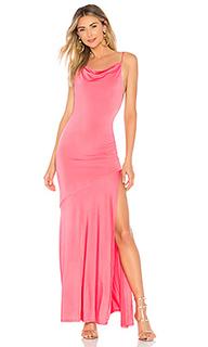 Вечернее платье с воротником-хомутом macduff - NBD
