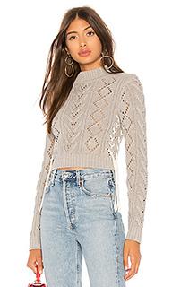 Укороченный свитер lace up - Lovers + Friends
