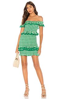 Жатое мини платье teri - Tularosa