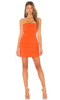 Мини-платье без бретель overdrive - NBD