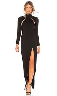 Вечернее платье с длинным рукавом aubree - Michael Costello