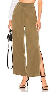 Укороченные брюки с широкими брючинами green tea - Chrissy Teigen