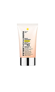 Солнцезащитный крем max mineral naked broad spectrum spf 45 - Peter Thomas Roth