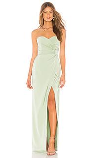 Вечернее платье без бретелек deeandra - MAJORELLE