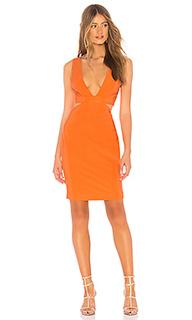 Мини платье с вырезом sophia - NBD