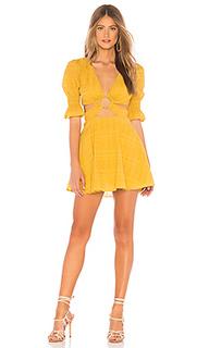 Мини-платье с короткими рукавами nanette - Tularosa