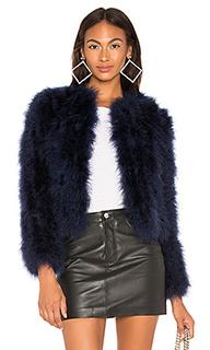 Куртка с перьями deora - LAMARQUE