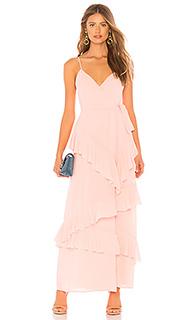 Вечернее платье с рюшами 253 - LPA