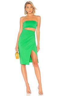Мини платье с вырезом intl - NBD
