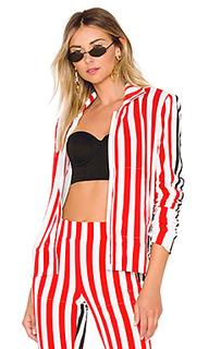 Куртка side stripe turtle - Norma Kamali