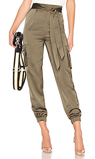 Rachel satin cargo pants - About Us