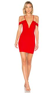 Облегающее платье с открытыми плечами avril - by the way.