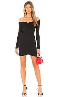 Платье с длинным рукавом lucie - by the way.