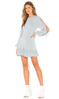 Вязаное платье с длинным рукавом claire - Tularosa