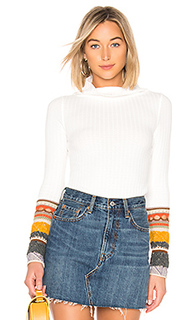 Свитер mixed up cuff - Free People