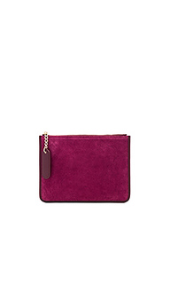 Клатч suede pouch - the daily edited