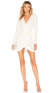 Мини-платье с длинным рукавом lola - NBD