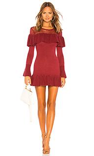 Alexa ruffle sweater dress - Tularosa