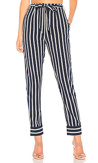 Nelly pinstripe belted pants - by the way.